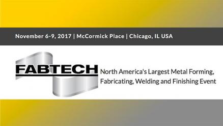 The Industrial Evolution Is Here: FABTECH 2017 in Chicago to Showcase Advanced Manufacturing Tech