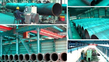 Sutor Technology Supply Spiral Seam Steel Pipes to Middle East Dredging Co.