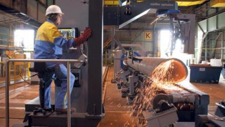Sparks Fly at Tata's Offshore Wind Jacket Assembly Operation in Northeast England